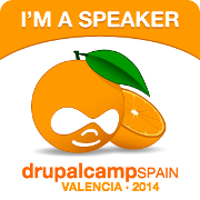 I am speaker DrupalCamp Valencia 2014